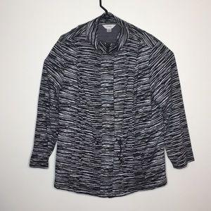 Cj banks zip up 2x jacket